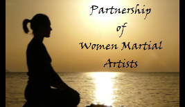 Logo for The Partnership of Women Martial Artists