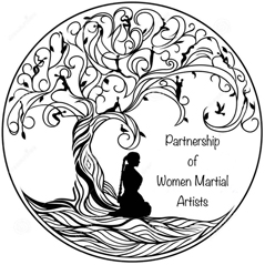 Logo for Partnership of Women Martial Artists